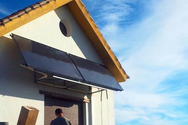 Instalación de equipo solar térmico en Sevilla