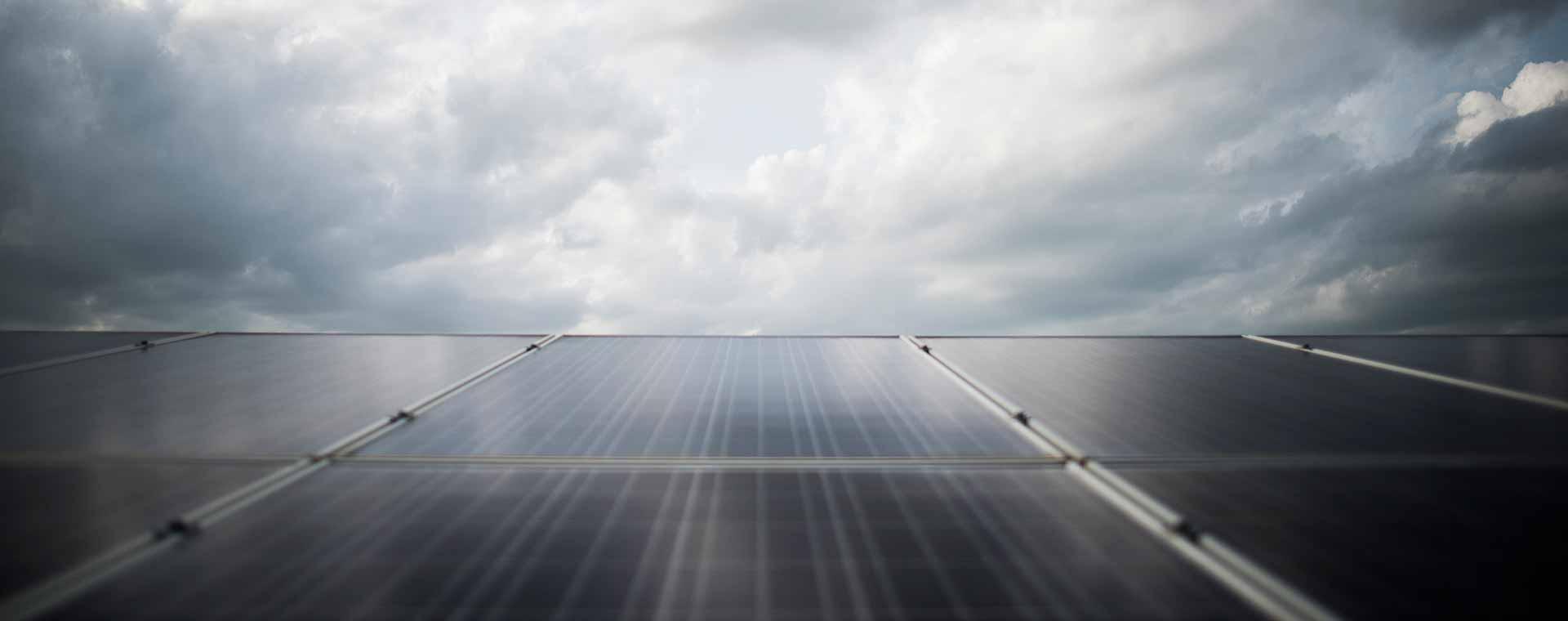 energía solar placa