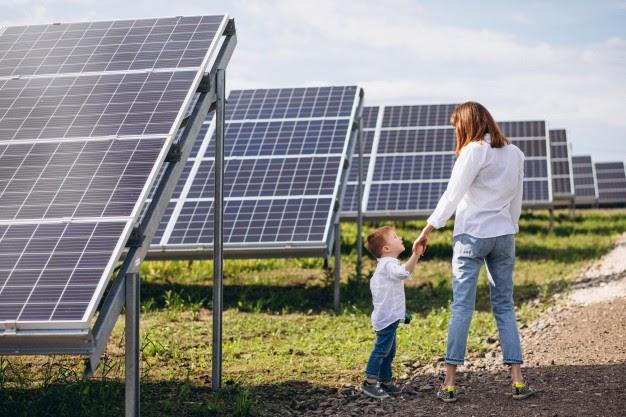 placa solar una energía renovable muy barata