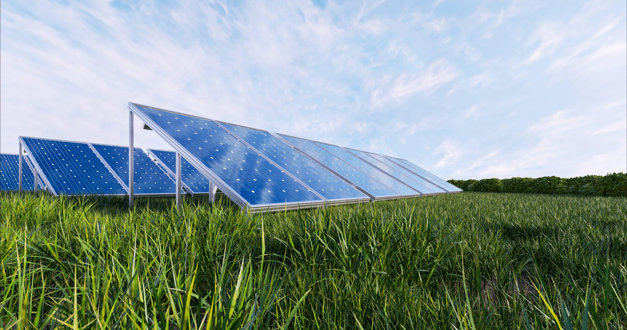 Apoyo visual placas solares